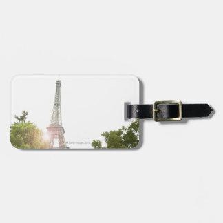 Eiffel Tower 2 Tag For Luggage