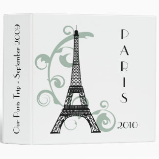 "Eiffel Tower 2"" Photo Binder"