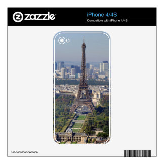 EIFFEL TOWER 2 SKINS FOR THE iPhone 4S