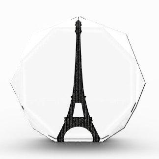 Eiffel Tower #4 Acrylic Award