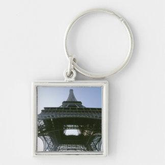 eiffel tower 4 keychain
