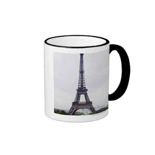 Eiffel Tower 4 Ringer Coffee Mug