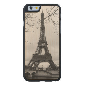 Eiffel Tower 7 Carved Maple iPhone 6 Case