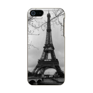 Eiffel Tower 7 Metallic Phone Case For iPhone SE/5/5s