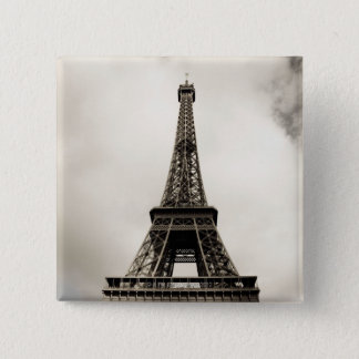 Eiffel Tower 8 Pinback Button
