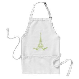 Eiffel Tower Adult Apron