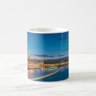 Eiffel Tower and Pont Alexandre III at Night Coffee Mug
