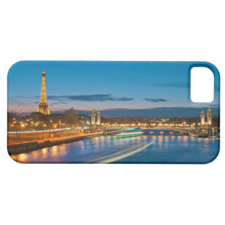 Eiffel Tower and Pont Alexandre III at Night iPhone SE/5/5s Case