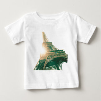 Eiffel Tower and Sunshine Baby T-Shirt