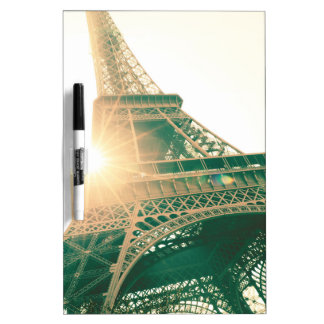 Eiffel Tower and Sunshine Dry-Erase Board