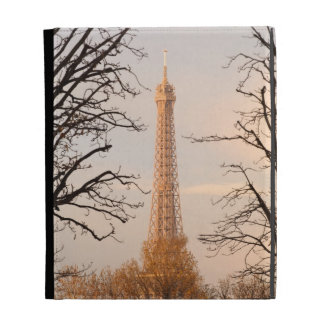 Eiffel Tower and Trees iPad Cases