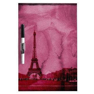 Eiffel tower art Dry-Erase board