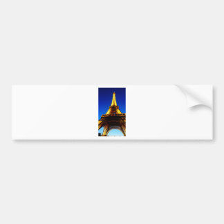 Eiffel Tower at Night Bumper Sticker