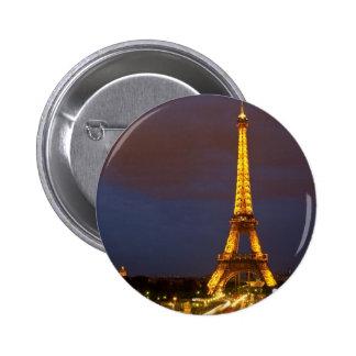 Eiffel Tower at Night Pins