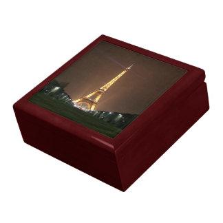 Eiffel Tower at Night Jewelry Box