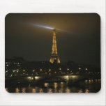 Eiffel tower at night, Paris, Mouse Pad