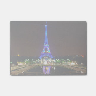 Eiffel Tower at night, Paris Post-it® Notes