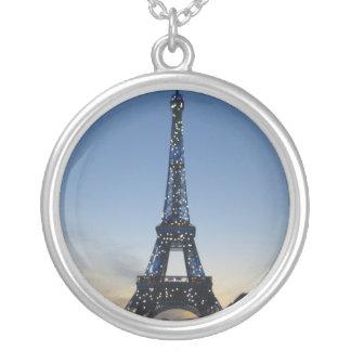 Eiffel Tower at Sundown necklace