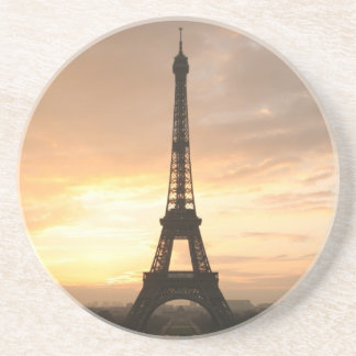 Eiffel Tower at sunrise. Drink Coaster