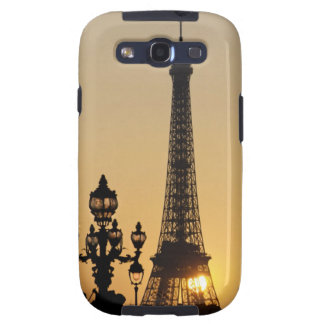 Eiffel tower at sunset galaxy s3 case