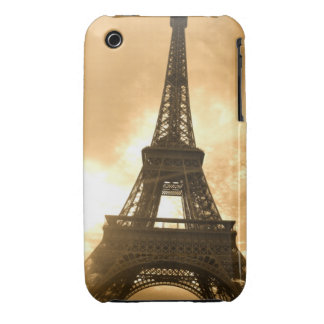 Eiffel Tower at sunset iPhone 3 Covers