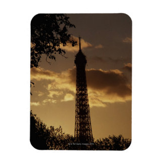 Eiffel Tower at sunset, Paris, France Magnet