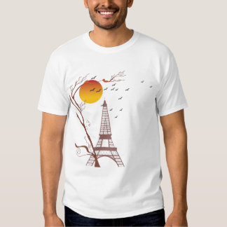 Eiffel tower, autumn T-Shirt