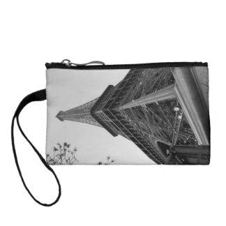 Eiffel Tower b/w Change Purse