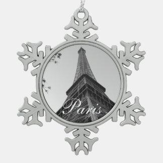 Eiffel Tower b/w Ornament