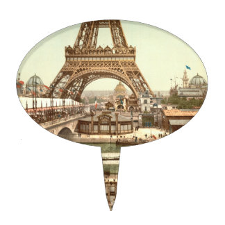 Eiffel Tower Base, Paris, France Cake Topper