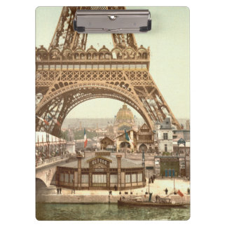 Eiffel Tower Base, Paris, France Clipboard