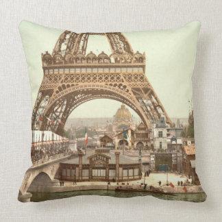 Eiffel Tower Base, Paris, France Pillows