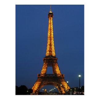 Eiffel Tower Beauty Postcard
