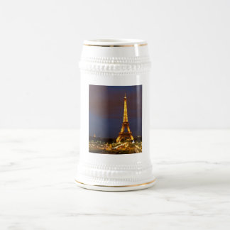 Eiffel Tower Beer Stein