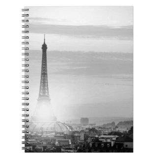 Eiffel tower, bets, France Notebook