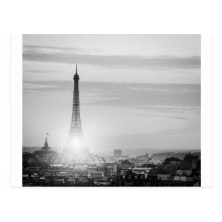 Eiffel tower, bets, France Postcard