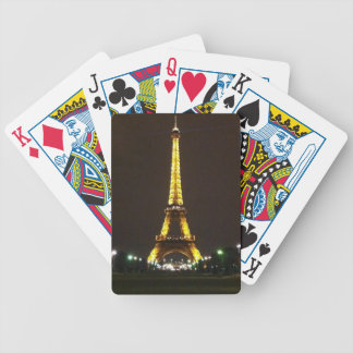 Eiffel Tower Bicycle Playing Cards