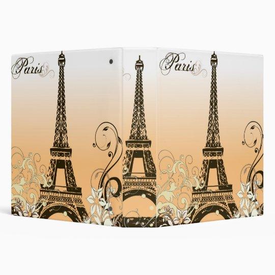 Eiffel Tower Binder