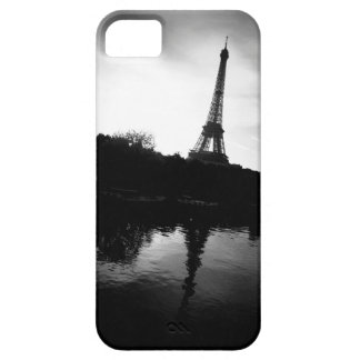 Eiffel Tower Black and White iPhone SE/5/5s Case