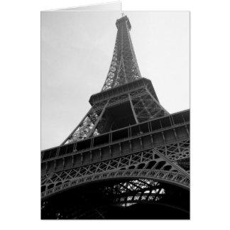 Eiffel Tower  - blank notecards Card