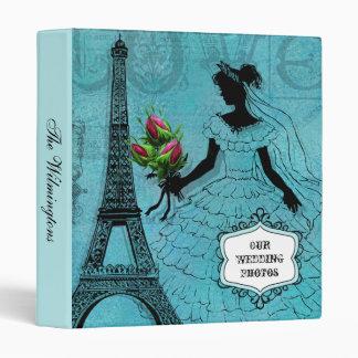Eiffel Tower Bride Photo Binder