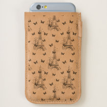 Eiffel Tower Butterflies Parisian,Romantic Pattern iPhone 6/6S Case
