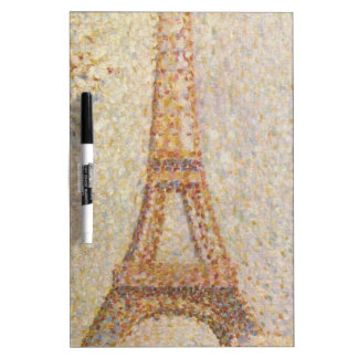 Eiffel Tower by Georges Seurat Dry-Erase Board