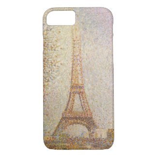 Eiffel Tower by Georges Seurat iPhone 8/7 Case