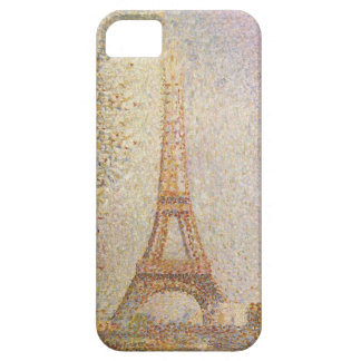 Eiffel Tower by Georges Seurat iPhone SE/5/5s Case
