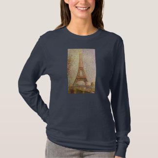 Eiffel Tower by Georges Seurat, Vintage Fine Art T-Shirt
