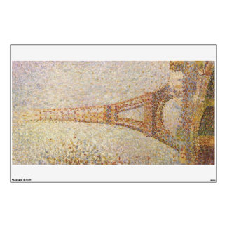 Eiffel Tower by Georges Seurat Wall Sticker