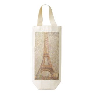 Eiffel Tower by Georges Seurat Zazzle HEART Wine Bag