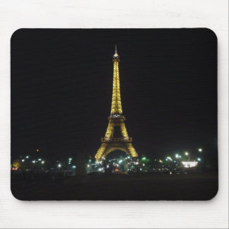 Eiffel Tower by night Mouse Pad