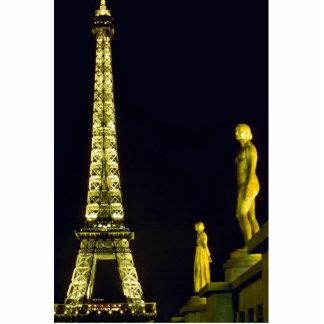 Eiffel Tower by night, Paris, France Cutout